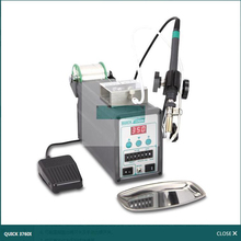 Quick Fast Grams 376DI Smart Tin Welding by 376D Automatic Tin Soldering Station High-Power 90W/150W