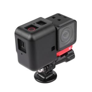 Image 5 - Insta360 واحد R الإفراج السريع الإطار Vlog قفص بانورامية 4K لايكا كاميرا حماية الحال بالنسبة Insta360 واحد R كاميرات الملحقات