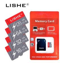 Gerçek kapasite Micro SD hafıza kartı 8GB 16GB 32GB sınıf 10 telefon için mikro SD kart flash bellek 64GB 128GB pendrive USB bellek