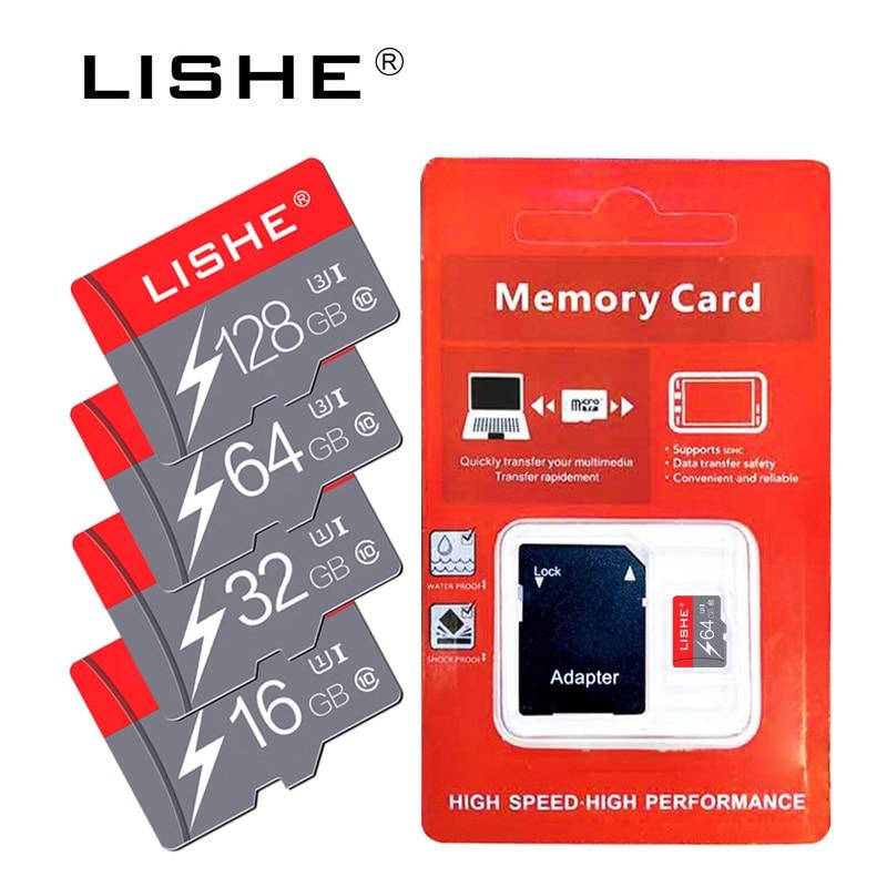 Real Capacity Micro SD Memory Card 8GB 16GB 32GB Class 10 For Phone Micro SD Card Flash Memory 64GB 128GB Pendrive Usb Flash