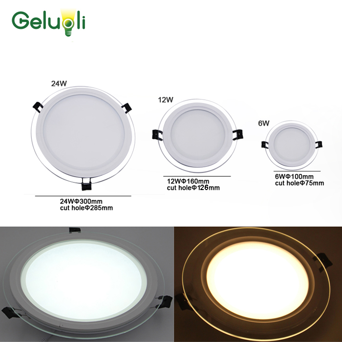 Super Thinness Led Ceiling Down Light,Led Panel Down Light  6W,12W,24W Cut Hole 75mm,100mm,285mm  Input AC100V-240V