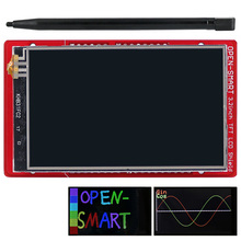3,2 дюймовый TFT ЖК-дисплей модуль сенсорный экран бортовой датчик температуры+ ручка для Arduino UNO R3/Mega 2560 R3/Leonardo