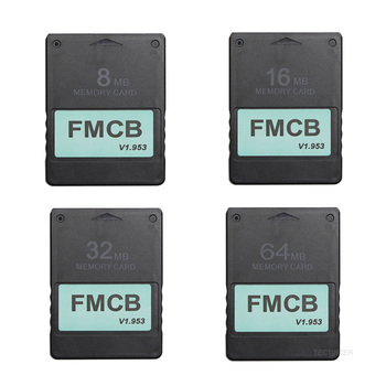 FMCB Free McBoot Card For Sony PS2 Playstation2 8MB/16MB/32MB/64MB Memory v1.953 OPL MC Boot - discount item  23% OFF Games & Accessories