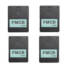 Tarjeta de memoria FMCB para PlayStation 2, accesorio V1.953 de 8 MB/16 MB/32 MB/64 MB para Free McBoot y OPL en Sony PS2