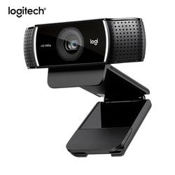 Logitech Pro C922 enfoque automático construido en Stream Webcam HD 1080p cámara para Streaming de grabación Original