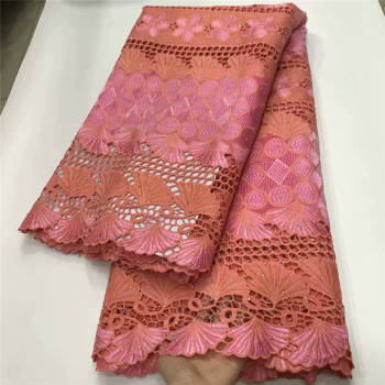 African Laces Fabric Milk Silk Lace Fabric 2020 High Quality Lace Nigerian French Lace Fabrics For Wedding Dress XY2739B-3