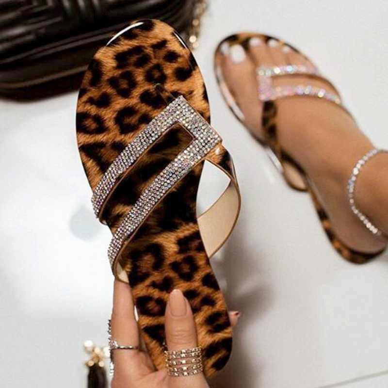 Musim Panas Pantai Bling Bling Crystal Roma Wanita Sandal Berlian Imitasi Platform Warna Campuran Potongan Wedges Wanita Sandal Wanita Sepatu