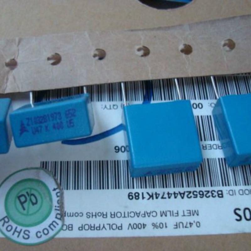 20PCS NEW EPCOS B32652 0.47UF 400V PCM15 474/400V P15mm 470NF 0.47uf/400v U47 474 0.47U/400V 470N/400V