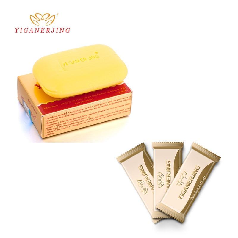Yiganerjing Sulfur Soap Removal Acne Pimple Pore Treatment Psoriasis Seborrhea Eczema Anti Fungus Bath Whitening Shampoo