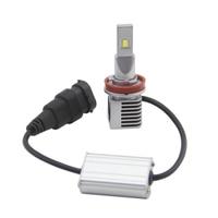 led white car SHUOKE Car Lamp LED H11 Led Fog Lights Bulb 5530 Chip 3200LM 6000K White 6000K White Driving Running Light offer Drop Shipping (1)