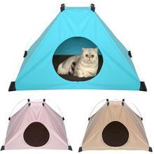 Dog House Dog Bed Foldable Cat House Small Footprint Pet Bed Tent Cat Kennel Indoor Portable Trave Pet Nest Bed Pet Tent Nest revlon шампунь кондиционер для темных оттенков sensual brunettes color care 275 мл