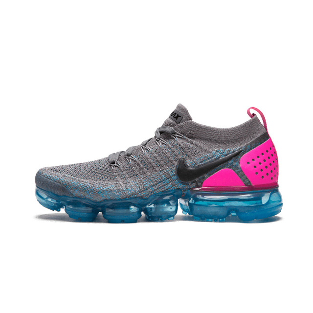 Original authentic NIKE Air Max Vapormax Flyknit women's running shoes outdoor sports classic breathable 2019 new 942843-004