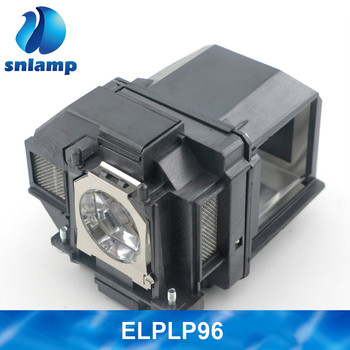Compatible with Housing ELPLP96 Projector Lamp/Bulbs For PowerLite 1266 1286 2142W 2247U 2042 S39 X39 W39 107 Projector фото