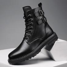 Neue Trend Army Military Männer Stiefel Schwarz Mens Fashion Stiefel Top Qualität Militär Kampf Stiefel Für Mann Designer Casual Schuhe herren