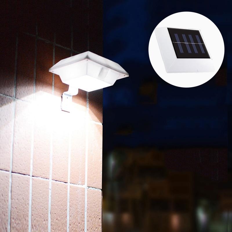 LED Solar Light Outdoor Solar Lamp Light Sensing Wall Light IP65 Waterproof Solar Garden Light Street Lights For Home Corridor