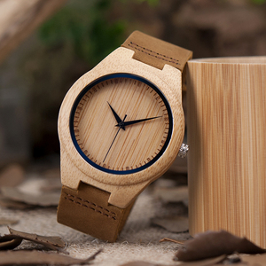 Image 3 - BOBO BIRD นาฬิกาไม้ไผ่สำหรับชายนาฬิกาข้อมือควอตซ์ชาย часы мужские montre Homme Mens นาฬิกานาฬิกา Dropshipping