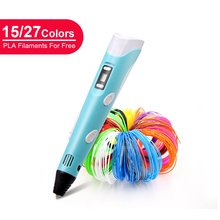 LIHUACHEN 3D Pen Professional RP300A DIY 3D Printing Pen Creative Toy 3D Drawing Pen Gift for Kids Design Drawing Christmas Gift