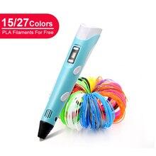 LIHUACHEN 3D Stift Professionelle RP300A DIY 3D Druck Stift Kreative Spielzeug 3D Zeichnung Stift Geschenk für Kinder Design Zeichnung Weihnachten geschenk