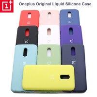 Oneplus-Funda de silicona líquida para móvil, carcasa trasera suave Original de Oneplus 6 6T 7 7T 8 8T 8 Pro, 10 colores