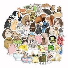 73 قطعة ملصقات أنيمي التسمية لطيف مذكرات ورق لاصق اليدوية تقشر اليابان ملصقا سكرابوكينغ القرطاسية ملصقات
