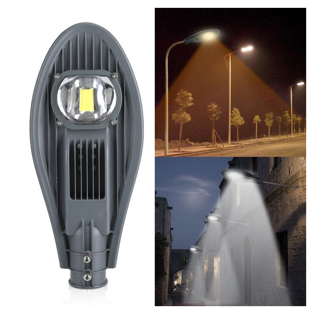 1pcs 30W/50W LED Street Light Road Street Flood Light For Garden Yard Wall Gate Outdoor Lighting Accessories