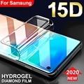 Защитная Гидрогелевая пленка на Samsung J6 J4 A6 A8 Plus A7 2018 S10e S10 Plus 5G (не стекло), Защитная пленка для Samsung J6 J4 A6 A8 Plus A7 2018 S10e S10 Plus 5G (не стекло)