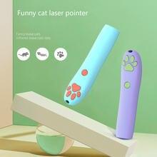 Лазерная Игрушка для кошек инфракрасный светодиодный узор палочка