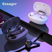 Essager T9S TWS האמיתי Bluetooth אלחוטי אוזניות אוזניות מיני אלחוטי אוזניות עם מיקרופון דיבורית אוזניות עבור Xiaomi iPhone
