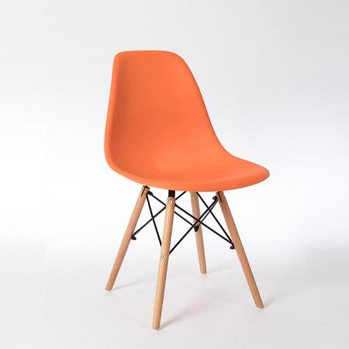 Скандинавские стулья для столовой, простые современные складные маленькие квартиры, ленивые домашние столы, задние пластиковые компьютерные кресла - Цвет: 3