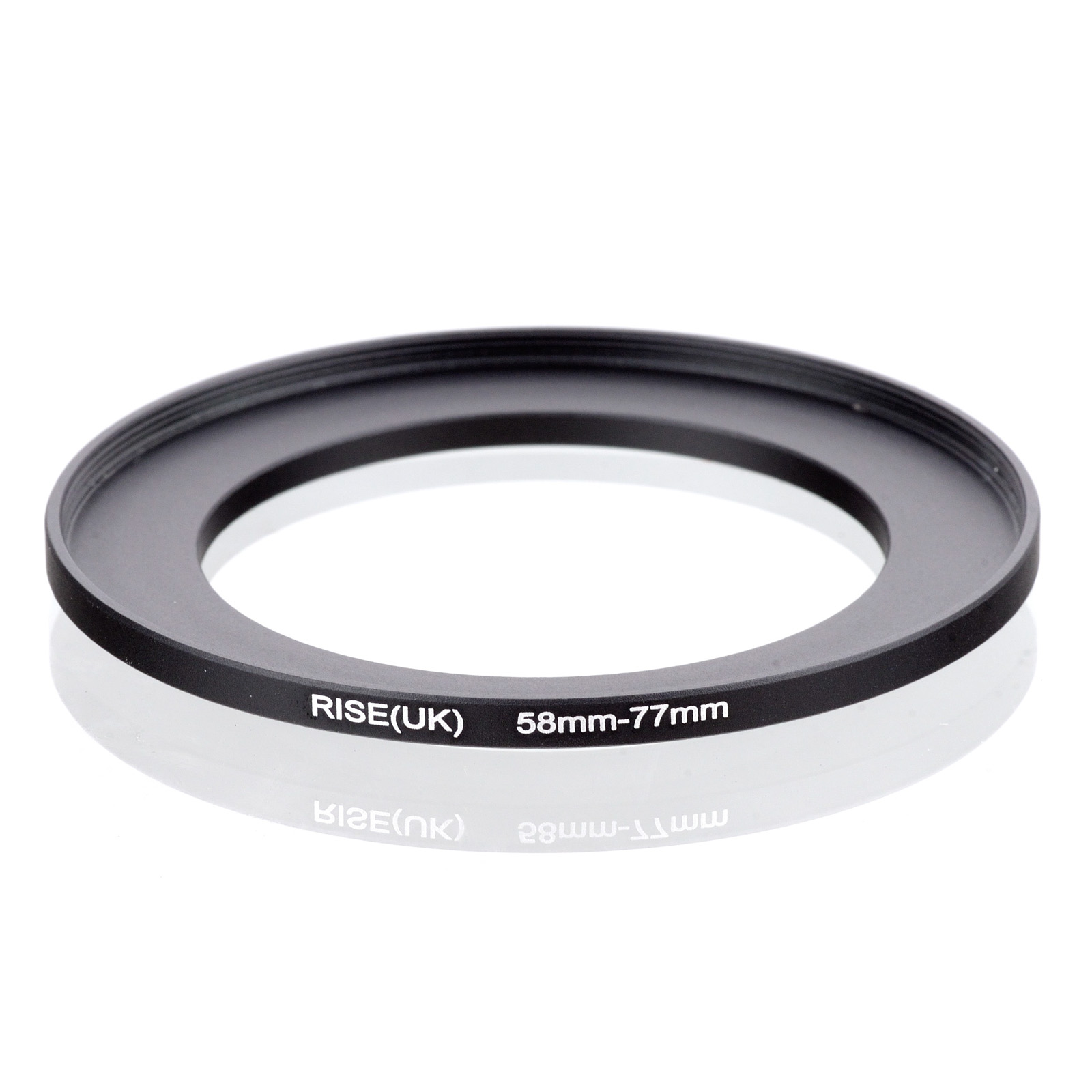 RISE(UK) 58mm-77mm 58-77 Mm 58 To 77 Step Up Filter Ring Adapter