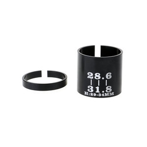 Bicycle Stem Conversion Sleeve Adapter 31.8mm to 28.6mm Reducer Front Fork MTB Fixed Gear Mountain Bike Shim Variable Ring