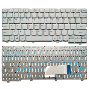Image 5 - New US laptop keyboard For Lenovo ideapad 100S 100S 11IBY English keyboard black/white