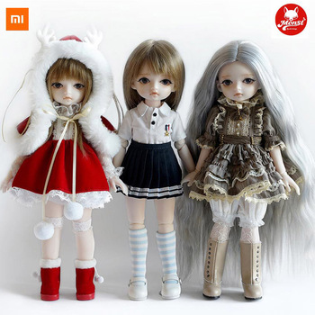 Xiaomi Youpin Monst Savage Baby BJD Doll 30 Cm Tall Small and Exquisite Childlike and Lovely Girl Gift