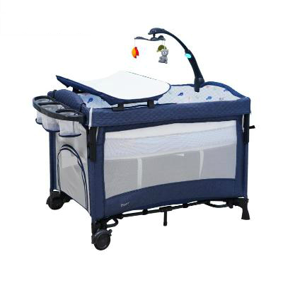 Crib Together Big Bed Folding Multi-function Portable Newborn Baby  Bb