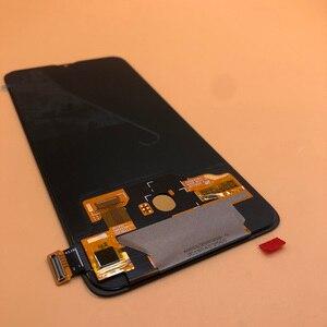 Image 2 - Yeni AMOLED LCD parmak izi XIAOMI Mi cc9 / MI 9 LITE LCD ekran dokunmatik ekran Digitizer meclisi değiştirme MI9LITE