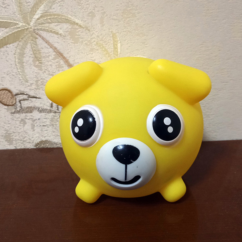 Harwls Talking Animal Jabber Ball Tongue out Stress Relieve Soft Ball Toy for Kids Adult