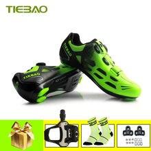 Tiebao sapatilha ciclismo мужская и женская профессиональная