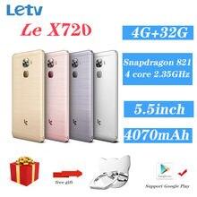 Letv – téléphone portable LeEco Le Pro3, écran de 95% pouces, Smartphone, 4 go de RAM, 32 go de ROM, snapdragon 821 Quad Core, caméra de 16 mpx, batterie de 5.5 mAh, 4070