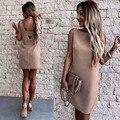 Sexy Skinny Bralette Cut Slim Dress 2021 Women Summer Fashion Sleeveless Backless Dress Female Party Club