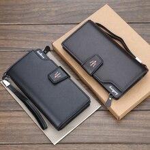محفظة طويلة من الجلد الصناعي مع شعار السيارة ، محفظة بطاقات ، مازيراتي 1 ، شحن مجاني