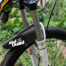 Błotniki rowerowe kolorowe przednia tylna opona błotniki koła z włókna węglowego błotnik MTB Mountain Bike kolarstwo szosowe Fix Gear akcesoria tanie tanio CZ13133 Bicycle Fenders High Quality Plastic MTB Road Bike Moutain Bicycle 260*220mm