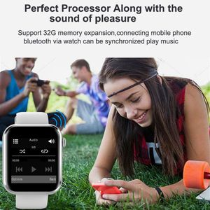 Image 4 - New KY001 Smart Watch Women big screen men Sport Fitness Bluetooth Smartwatch Phone Music player SIM TF Card for iOS Android