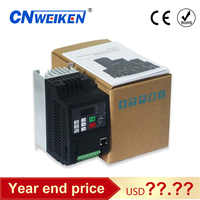 Variable frequenz konverter 50Hz/60Hz motor inverter Wk310 VFD 1.5kw single-phase 220v eingang drei -phase 220 ausgang