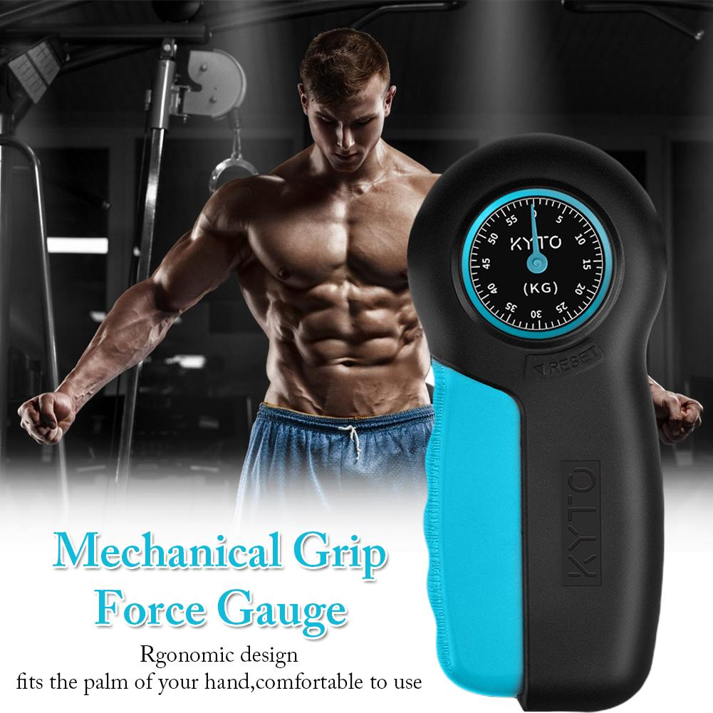 Hand Grip And Wrist Strengthener Gripper Hand Strength Trainer Forearm Exerciser Measurement Force Gauge Load Cell image