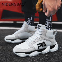Man Sneakers Breathable High Top Shoes Light Walking Trainers Outdoor Winter Men Running Fashion Zapatos Hombre