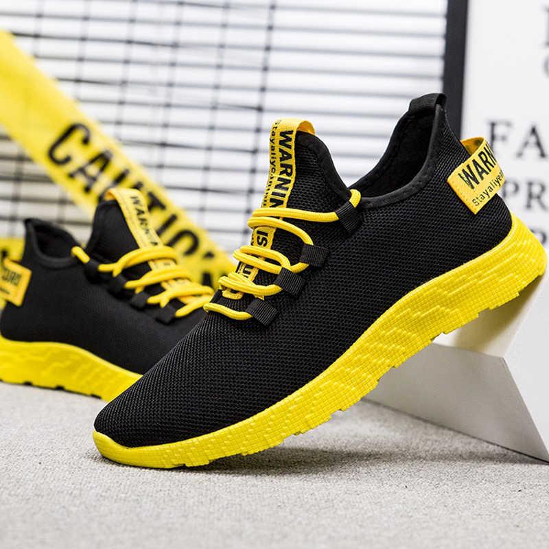 Mode Männer Turnschuhe Mesh Casual Schuhe Lac-up Männer Schuhe Leichte Vulkanisieren Schuhe Zu Fuß Turnschuhe Zapatillas Hombre