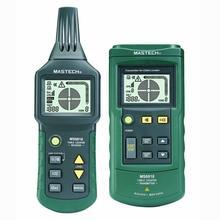 Mastech MS6818 Portable Professional Draht Kabel Tracker Metallrohr Locator Detector Tester Linie Tracker Prospektion Instrument