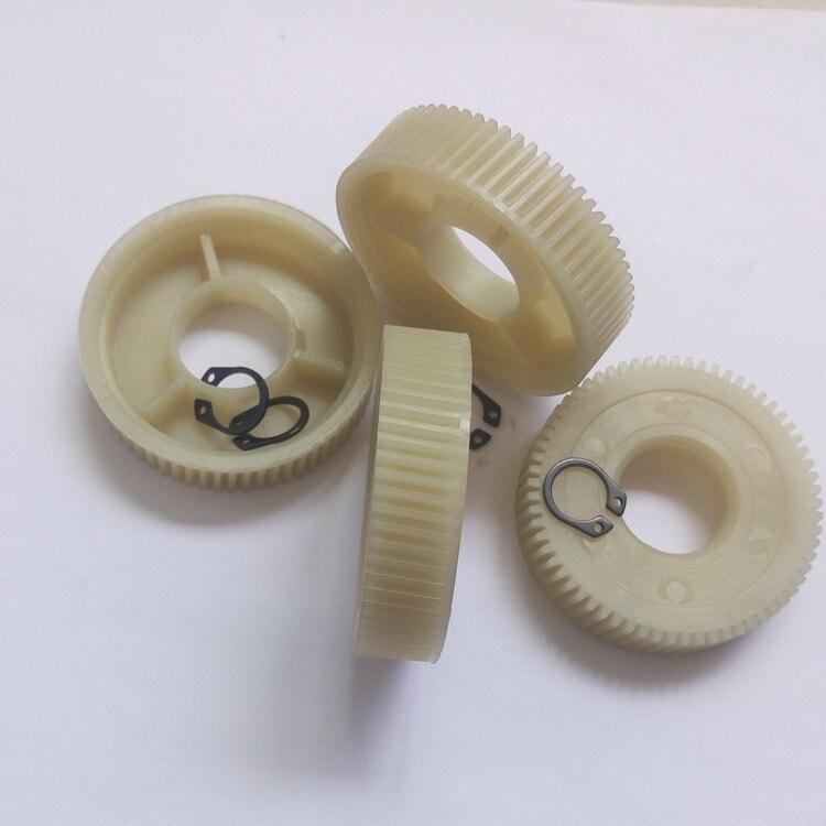 4pcs Car door and window glass lifter motor worm gears nylon PA66 material durable window motor worm