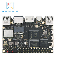 2020ほとんど強力なシングルボードコンピュータと4ギガバイトLPDDR4/4X + 32ギガバイトのemmcと5.0 npu khadas VIM3プロ