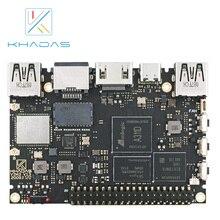 2020 ordinateur à carte unique le plus puissant avec 4 go LPDDR4/4X + 32 go EMMC et 5.0 NPU Khadas VIM3 Pro